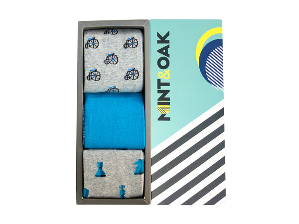 Gift Box of 3 - Blue