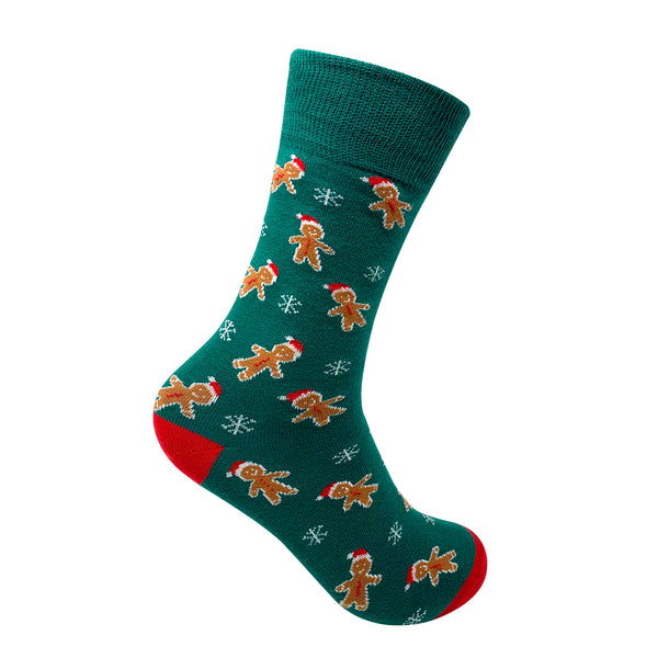 Gingerbread Man Socks For Men