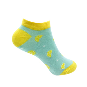 Zesty Lemon Socks For Women