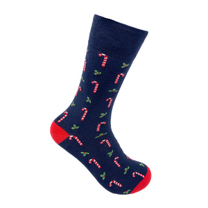 Candycane Socks For Men