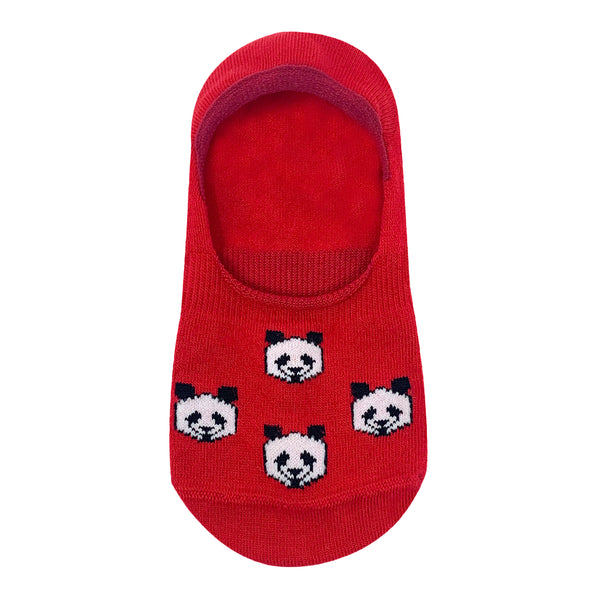 Panda Lover - No Show Socks For Women