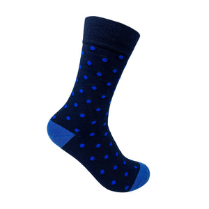 All Blue Socks For Men