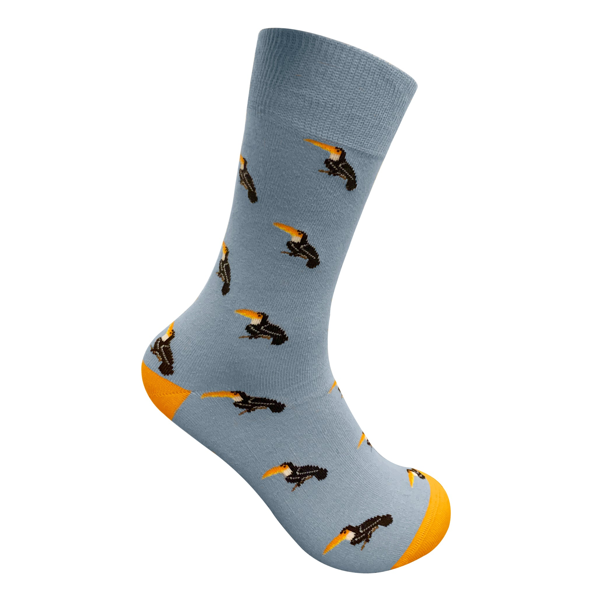 BIRDS OF A FEATHER SOCKS| Men socks - Mint & Oak