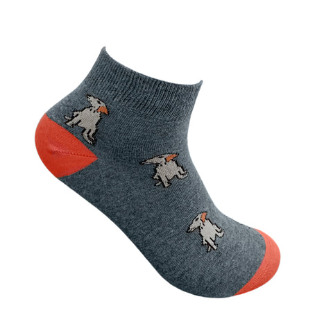 Man'S Best Friend Ankle Socks For Men