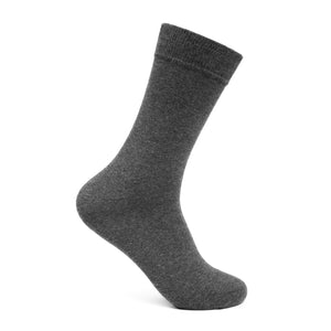 Grey solid socks