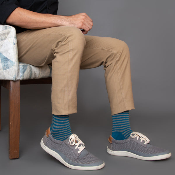 Stripes socks men