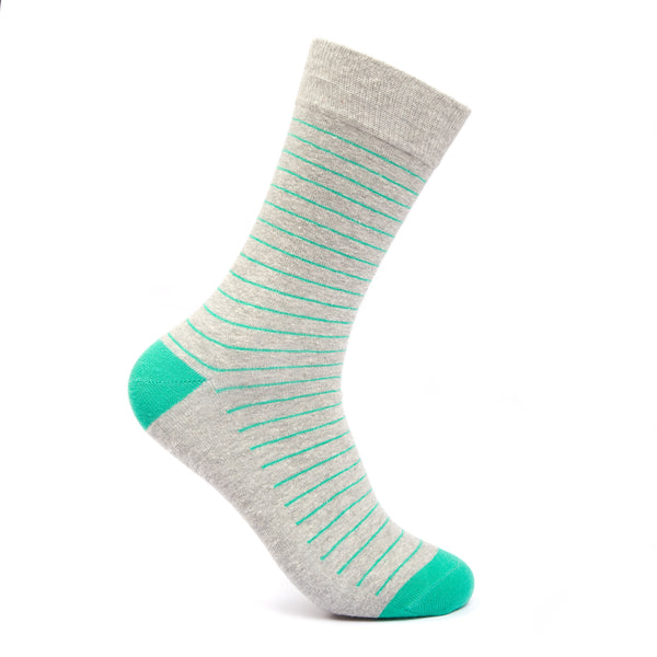 GREEN STRIPES - Mint & Oak