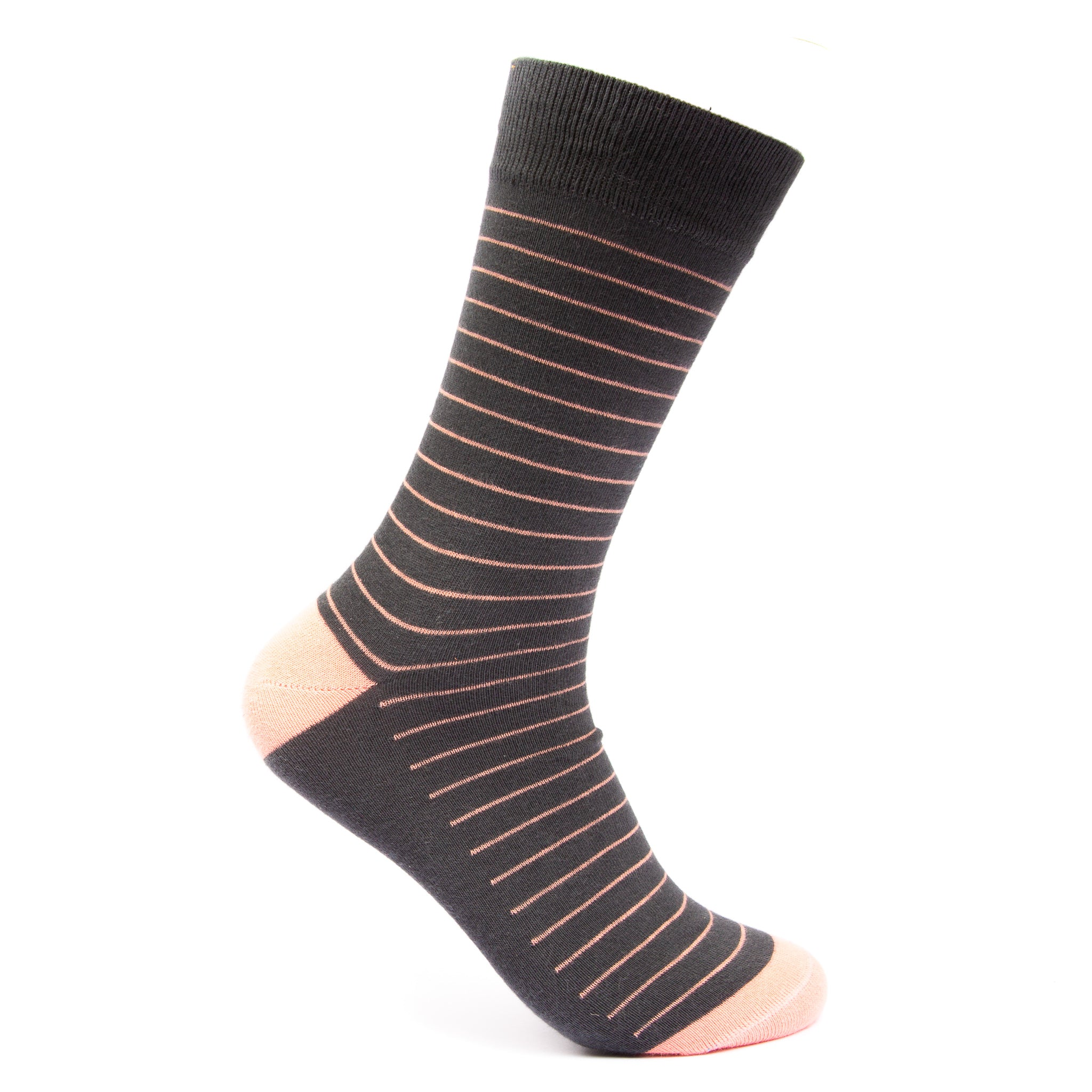 Pink stripes socks