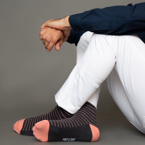 Striped socks men