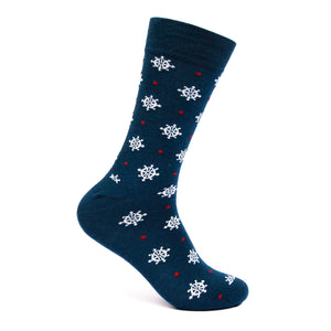 Wheel Nautical Mens sock