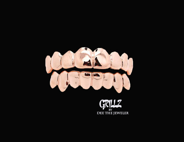 Grillz Plain Solid 16 Pack