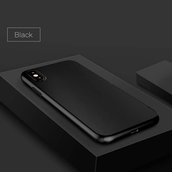 iPhone X Case Ultra thin Slim Soft Back Cover