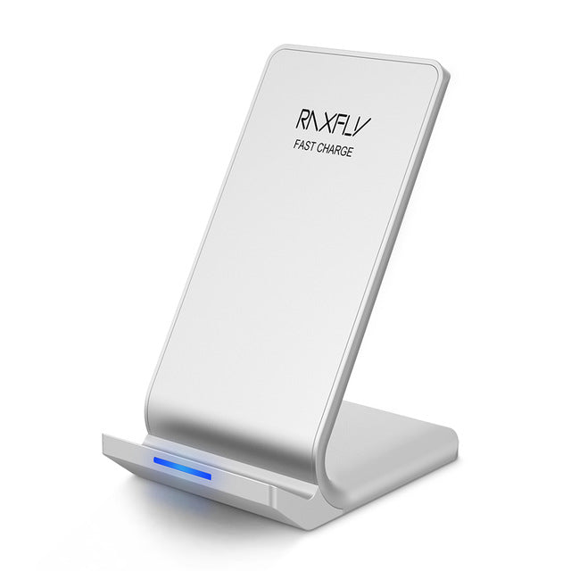 RAXFLY 10W Wireless Charger Fast Qi Wireless Charging Pod