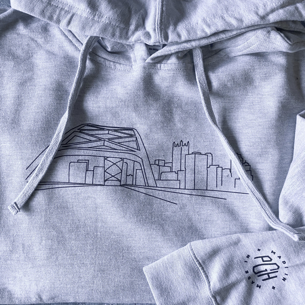 Tunnel Vision Hoodie Collaboration with Local Illustrator and Artist, Cam Schmidt (@icammf)