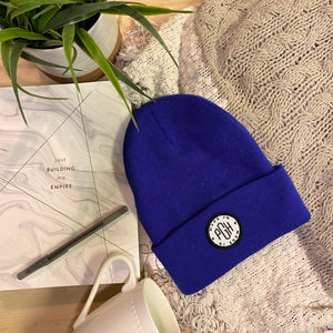 Made in PGH Knit Beanie - Royal Blue
