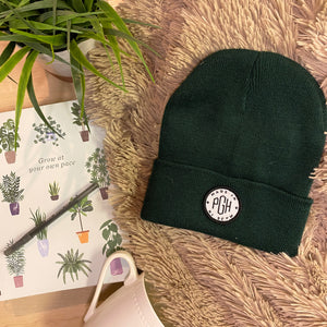Made in PGH Knit Beanie - Forest Green
