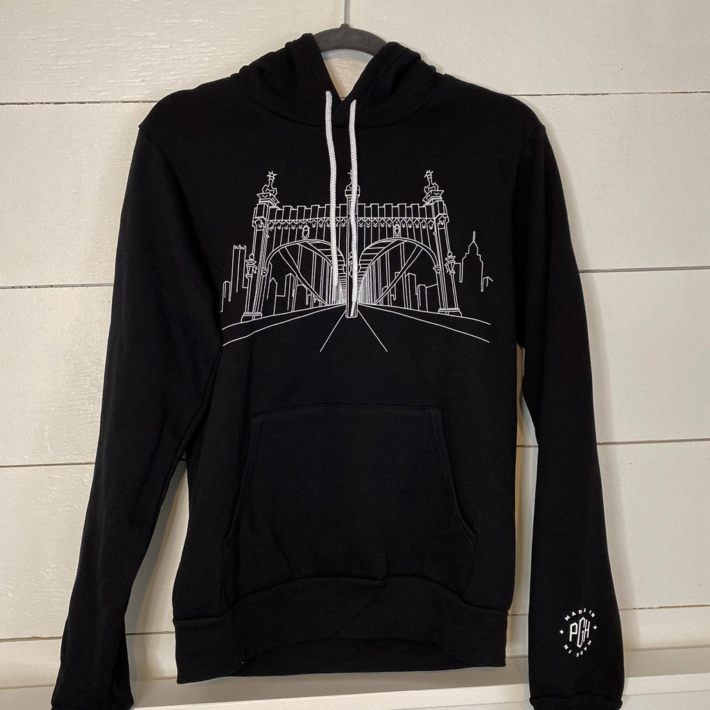 Smithfield St. Views Hoodie Collaboration with Local Illustrator and Artist, Sara Warsing (@sarawarsingart)