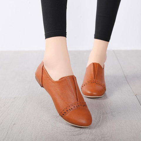 Fashion Women Plain Low Heel Flats & Loafers