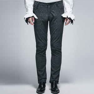 Fashion Men's Solid Color Casual Pants