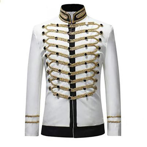Casual Stand Collar Slim Men Jacket