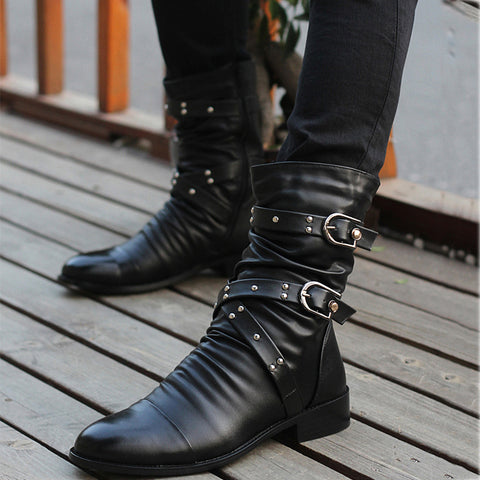Trend British Wind-Tip Rivet In The Tube Martin Boots