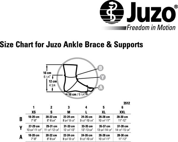Juzo Ankle Support 30-40mmHg - Malleo 717