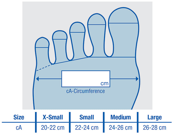 Farrow Microfine Toe Cap 20-30mmHg