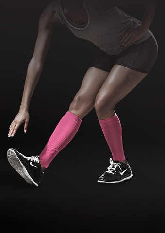 pink compression athletic