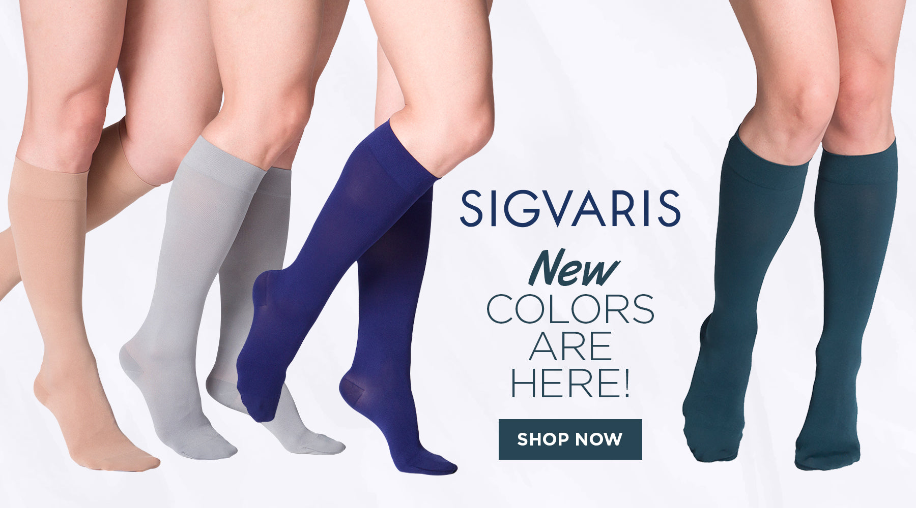 Sigvaris Stylish Colors Compression Stockings