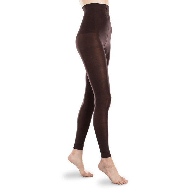 2bc725337ee Therafirm Footless Opaque Light Support Tights 10-15mmHg — BrightLife Direct