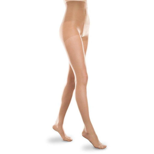 Therafirm Light Footless Opaque Support Tights 10-15mmHg