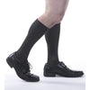 Allegro Premium Microfiber/Cotton Socks 15-20mmHg, Black Alternate