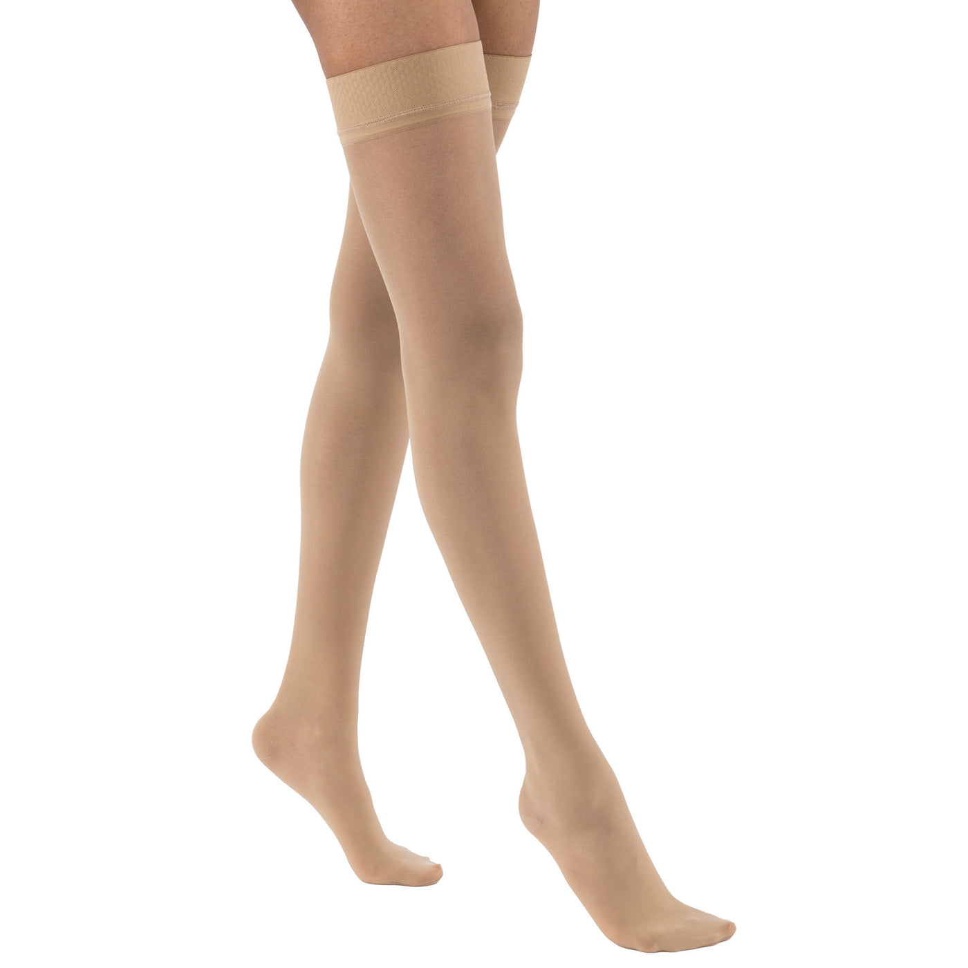 8093e9800 Home Jobst UltraSheer Thigh Highs 15-20mmHg - Silicone Dot Band. Hover to  zoom