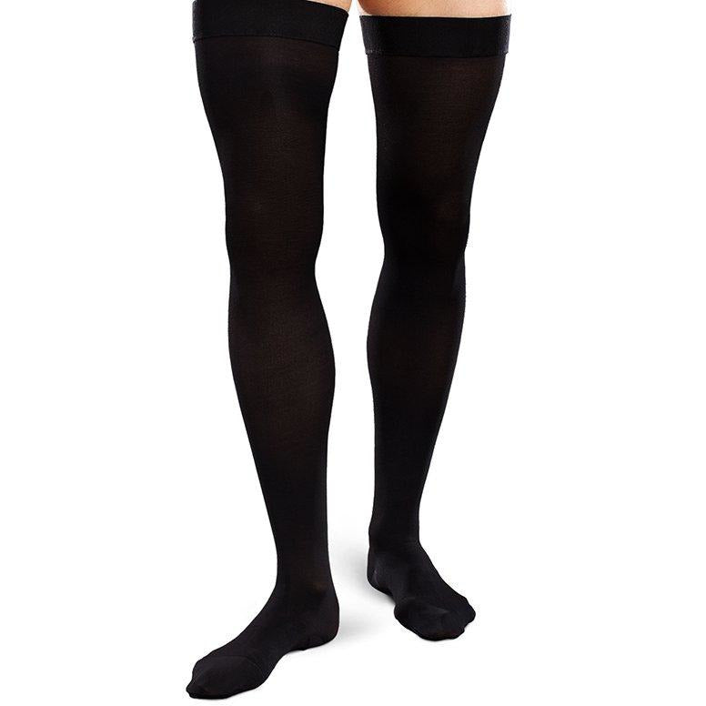 908df97051386 EASE Opaque Men's Compression Thigh High 20-30 mmHg — BrightLife Direct