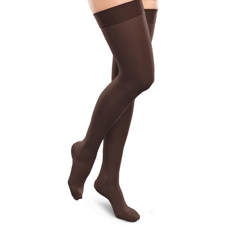 771eacf3791db BrightLife Direct · Home EASE Compression Socks and Stockings EASE Opaque  Women's Thigh High 20-30 mmHg. Hover to zoom