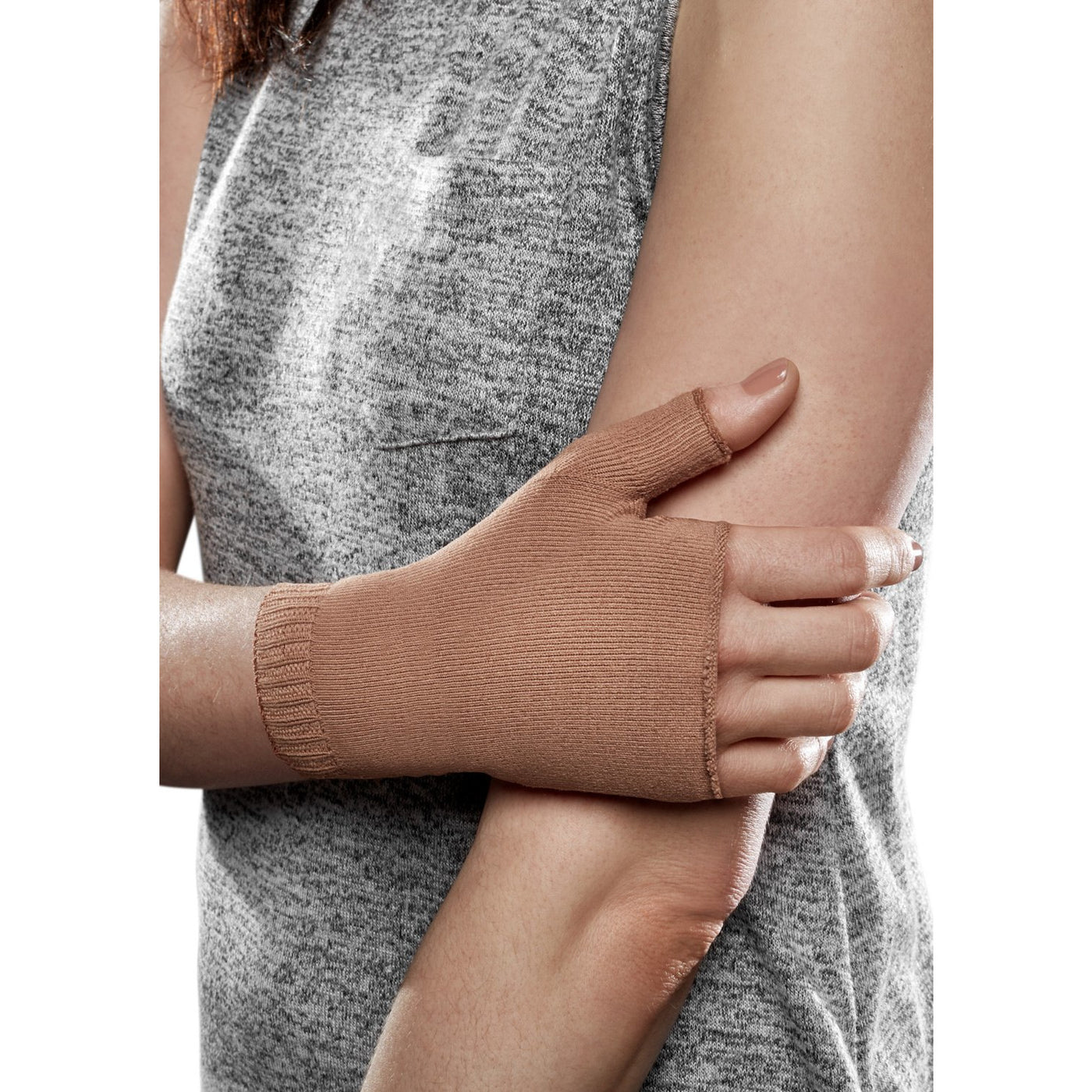 63a1b76630 BrightLife Direct. Home Therafirm EASE Lymphedema Gauntlet 20-30 mmHg.  Hover to zoom