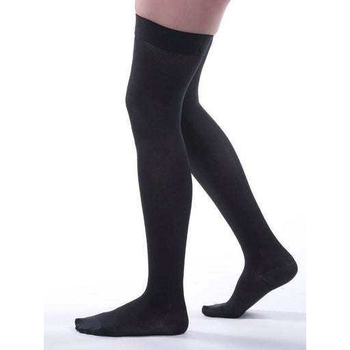 4d34bc5009b Allegro Soft - Microfiber Thigh Highs 20-30mmHg -   262