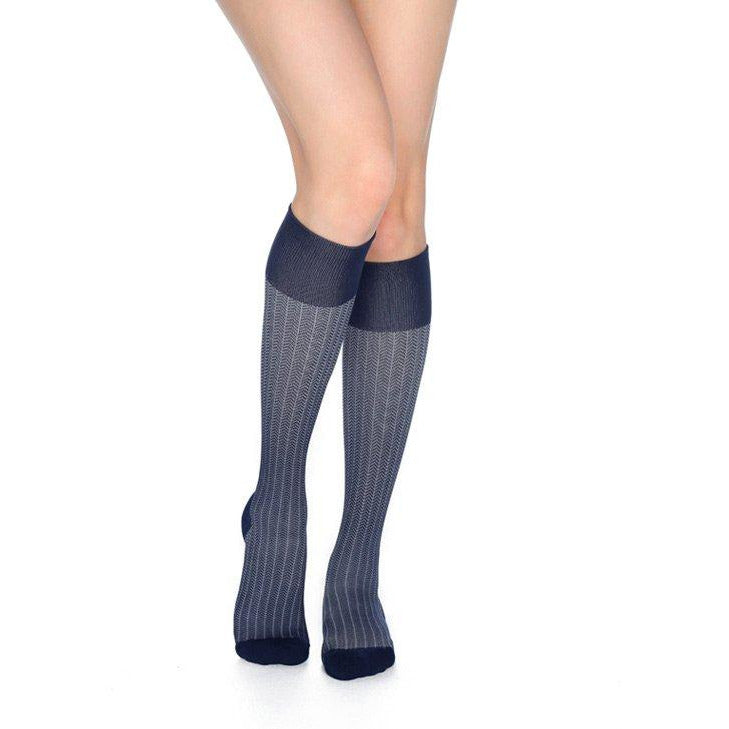 2fd384e45e5 RejuvaHealth Herringbone Compression Socks 20-30 mmHg — BrightLife Direct