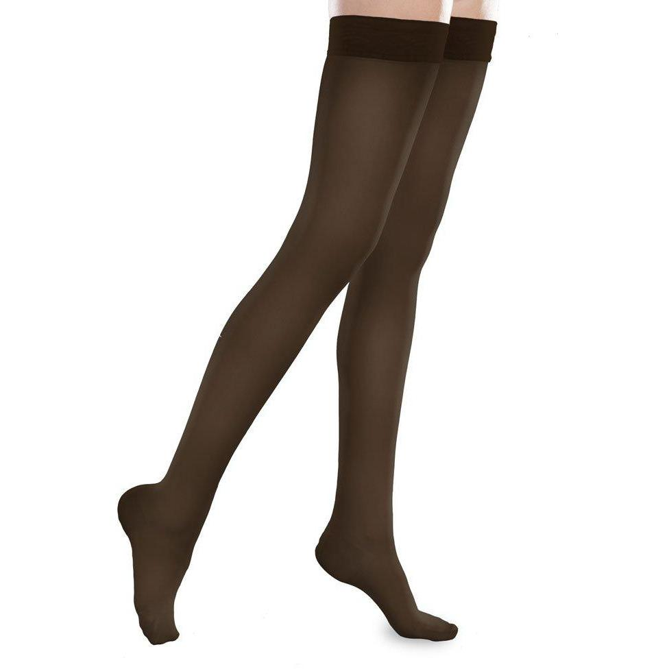 643fb532a7ac5 BrightLife Direct. Home EASE Sheer Thigh Highs 15-20mmHg by Therafirm.  Hover to zoom