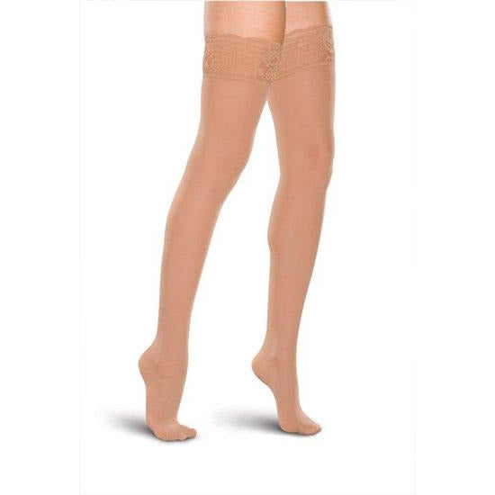 c42453e6e481d Therafirm Lace Top Support Thigh Highs 20-30mmHg — BrightLife Direct