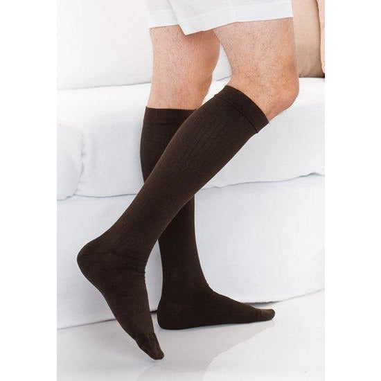 a59e5b732e Therafirm Men's Light Support Knee Highs — BrightLife Direct