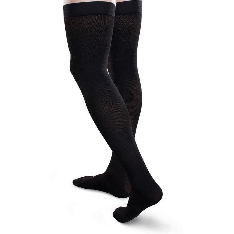 361394279f2 Therafirm Core-Spun Compression Thigh Highs 15-20mmHg — BrightLife Direct