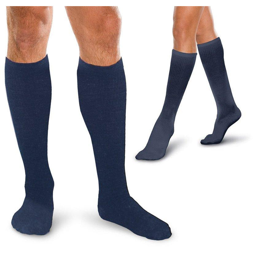1de0bb0918d Therafirm Core-Spun Support Socks 15-20mmhg — BrightLife Direct
