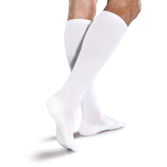Therafirm Core-Spun SHORT Support Socks 10-15mmHg