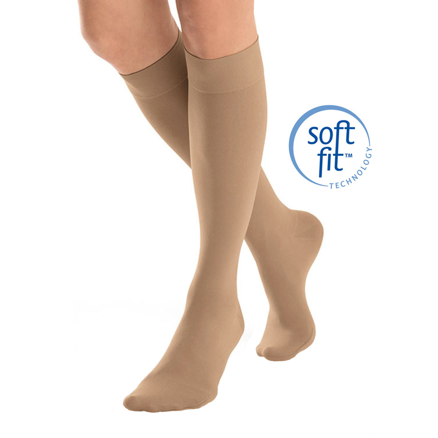 92530d32ed Home Jobst SoftFit Opaque Knee Highs 15-20 mmHg. Hover to zoom
