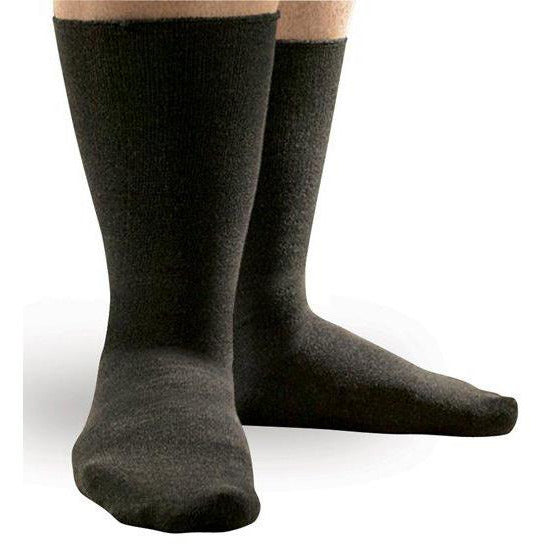 fbee26a91c6 SmartKnit Seamless Diabetic WIDE Crew Sock — BrightLife Direct