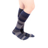VenaCouture Women's Bold Regency Stripe Socks 15-20 mmhg Midnight/Navy
