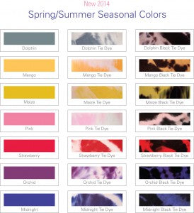Juzo Soft Spring and Summer Colors