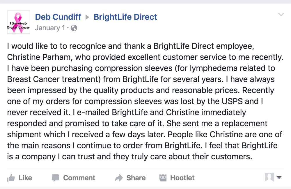 Get to know your customers day - BrightLife Direct