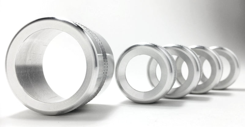 944-968 Full Knob Bezel Set (5 bezels)